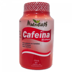 Cafeína 210mg - 60 Cápsulas