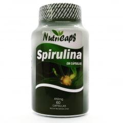 Spirulina 450mg - 60 Cápsulas